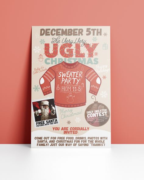 15+ Holiday Marketing Flyers Design Examples  Ideas - Daily Design