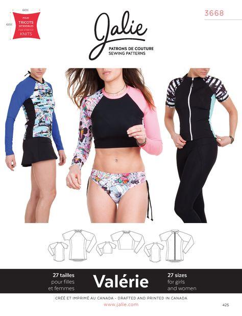 5faae10fc Jalie Womens Shapewear Sewing Pattern 1299 by marcellassewing ...