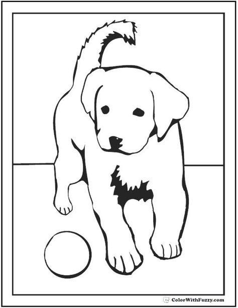 Labrador Retriever Coloring Pages Convenicash Info Kids Coloring