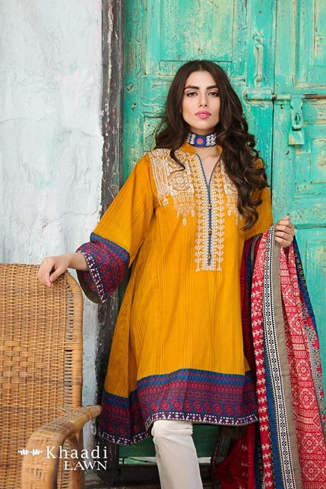 Khaadi Lawn Vol 2 Two Piece Collection For Girls - Fashobazar