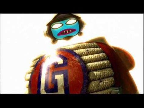 Gorillaz - Rock The House - It was a bit disturbing to watch Murdoc