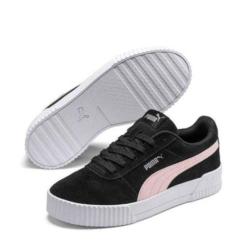 Puma Carina suède sneakers zwart/roze - Zwart en Nieuwe mode