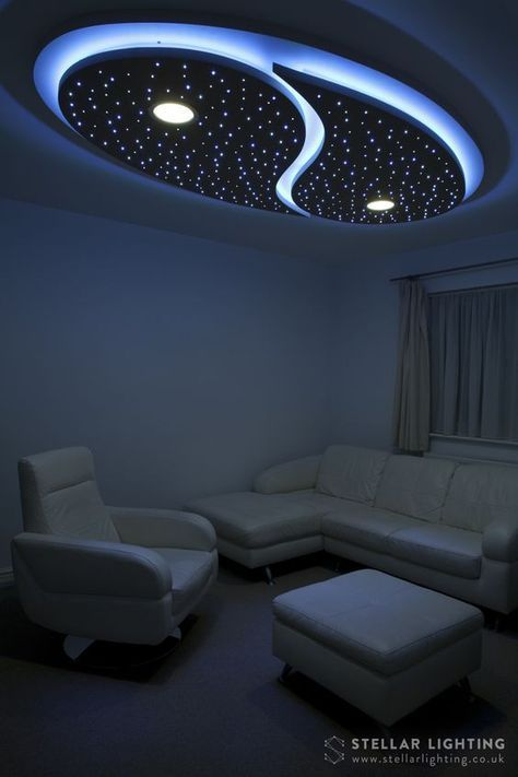 Yin And Yang Custom Made Starry Sky Led Ceiling Lighting Ceiling Design Modern Bedroom False Ceiling Design Ceiling Design Living Room