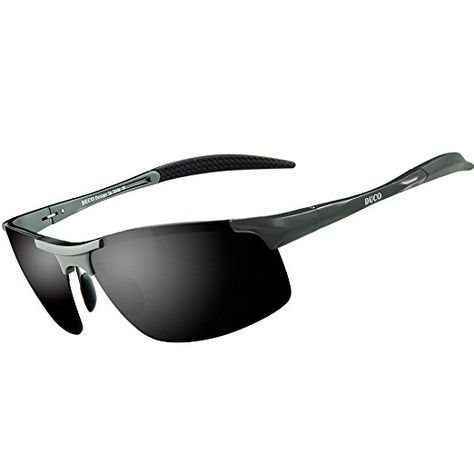 8bdcf3db974 Duco Men s Driving Sunglasses Polarized Glasses Sports Eyewear Great for   golf  driving
