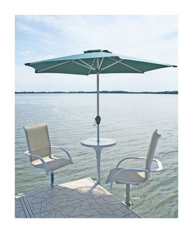 Superior Boat Dock Furniture | Lake House | Pinterest | Boat Dock, Boating And Lakes