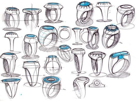 References for Artists — anatoref: Women's Rings Top Image Row 2 Row 3:...