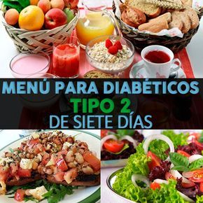 planes de menú saludables para la diabetes
