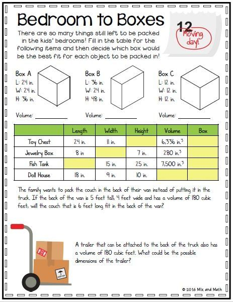 5th Grade Volume Project Upper Elementary Math Classroom Transformation Teaching Upper Elementary