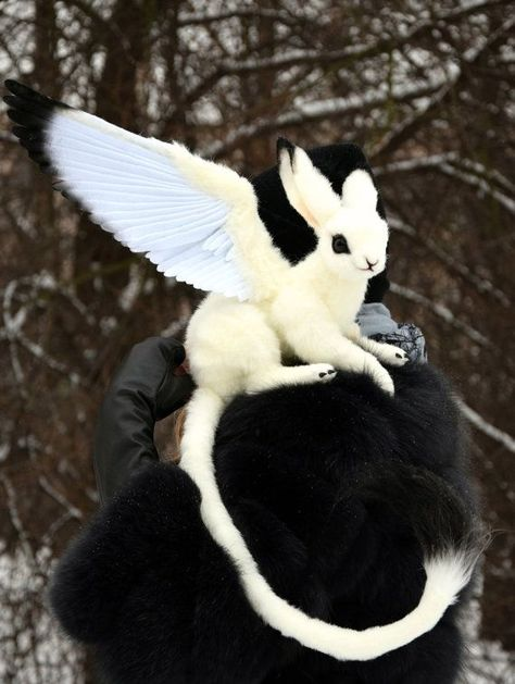 Bellus Lepus Griffin by GakmanCreatures on Etsy