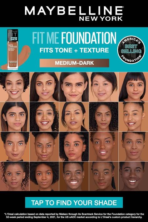 Ideal for normal to oily skin, our exclusive matte foundation formula features micro-powders to control shine and blur pores. Pore minimizing foundation. All day wear. Non-comedogenic. Dermatologist tested. Allergy tested.