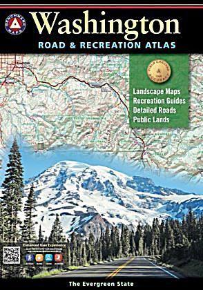 Autoatlas Benchmark Washington Karte Im Sinne Von Landkarte
