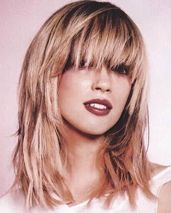 Layered Hairstyles With Bangs Glamorous Long Haircuts  Long Hairstyles  Wiggy No More  Pinterest