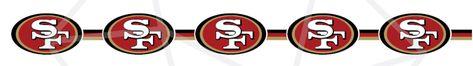 San Francisco 49ers SVG PNG bundle/ Niners football/ Repeat pattern cricut silhouette clipart- 9 designs!