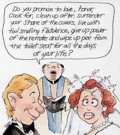 Humor Comics Wedding Cartoons Too Funny Pinterest Marriage And Jokes