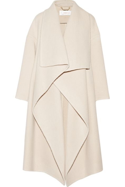 Shop on-sale Chloé Draped alpaca-blend coat. Browse other discount designer Draped alpaca-blend coat & more on The Most Fashionable Fashion Outlet, THE OUTNET.