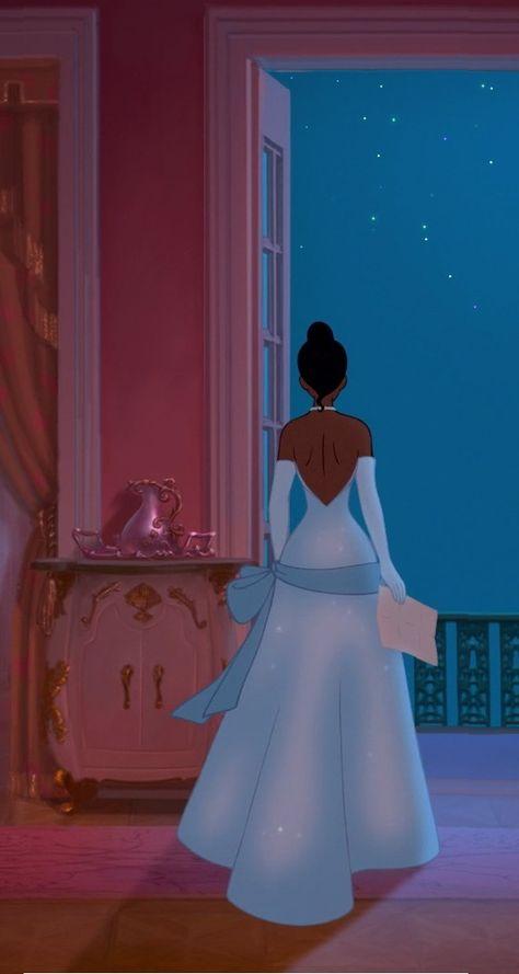 Disney Prinzessin Disney Frösche Kleid 39 Ideen - disnep - The Disney Frog Princess, Disney Princesa Tiana, Princesas Disney, Princess Merida, Tangled Princess, Disney Princess Dresses, Princess Aesthetic, Disney Aesthetic, Aesthetic People