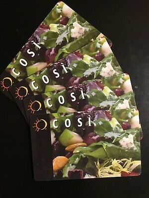 Discounted Cosi Restaurant Gift Card 10 Off You Pay 26 49 For 37 49 In 2021 Restaurant Gift Cards Gift Card Gifts