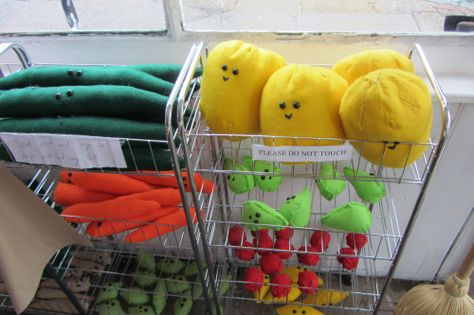 Too much cute! I loved this! The Cornershop art exhibition where everything is made of felt, Shoreditch