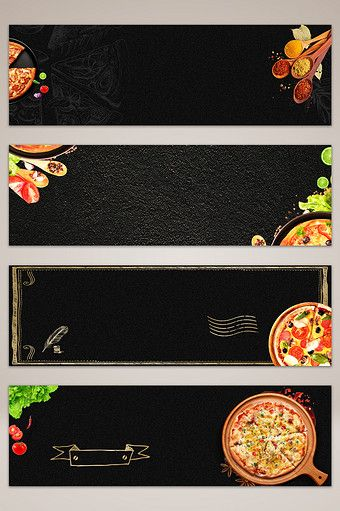 Over 1 Million Creative Templates By Pikbest Food Background Wallpapers Pizza Art Food Banner