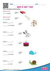 English Pronouns worksheets Kindergarten