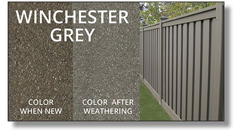 Seclusions Composite Fence Trex Fencing Fence Trex Colors