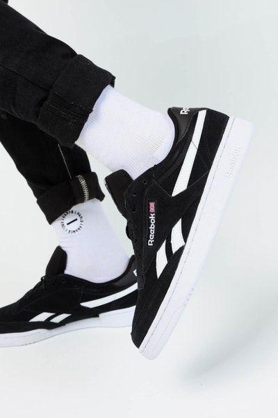 belle scarpe risparmia fino al 60% bellissimo aspetto Reebok Revenge Plus MU Black/White | Black reebok, Shoes mens ...