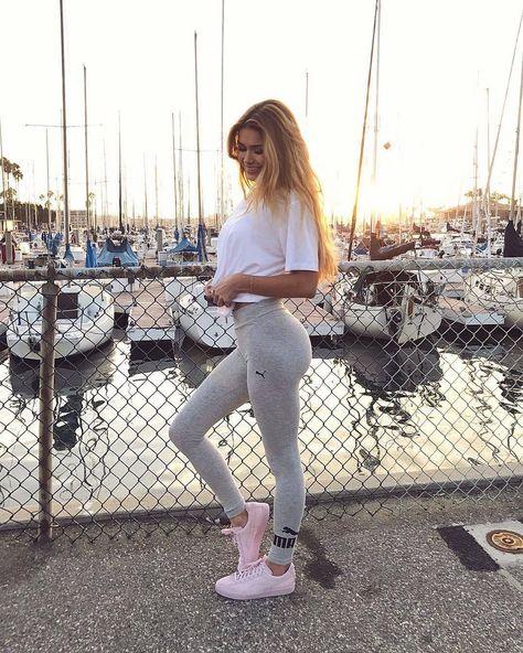 puma, fitness, and pamela rf imageの画像