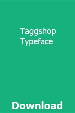 Taggshop Typeface Download Typeface Download Incoming Call Screenshot