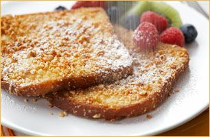 Do you know how to make French Toast? You only need eggs, milk and bread! Here is a simple recipe from IncredibleEgg.org