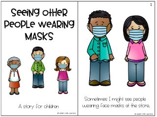 Seeing People Wearing Masks Story