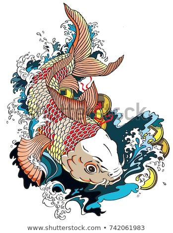 Image by Shutterstock Three Colored Koi Fish Men/'s Tee