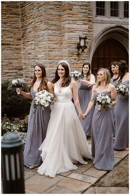 Classic And Romantic Knoxville Church Wedding Wedding Dress Styles Wedding Dress Backs Grey Wedding Dress
