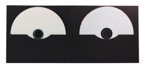 Jetzt im Shop: CD-Digifile, 2 Schlitze, schwarz, unbedruckt, 350g Karton bestellen. #CD #Digi #black #Pappe #cardboad #sleeve