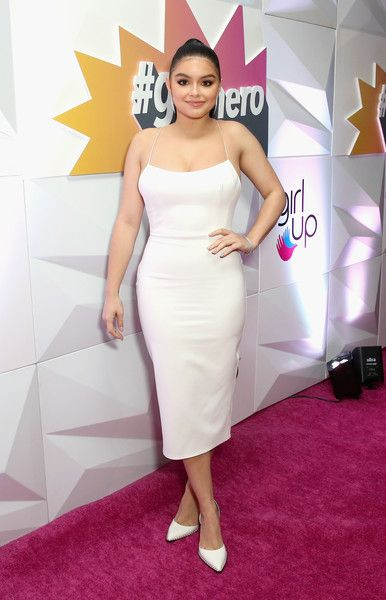 Ariel Winter attends the Girl Up #GirlHero Awards Luncheon.
