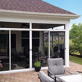 Screen Room Sunroom Roof Under Existing Roof Screened In Patio Screened Porch Designs Patio