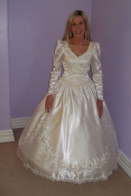 First Wedding Dress revisited. February 2019 First Wedding Dress revisited.