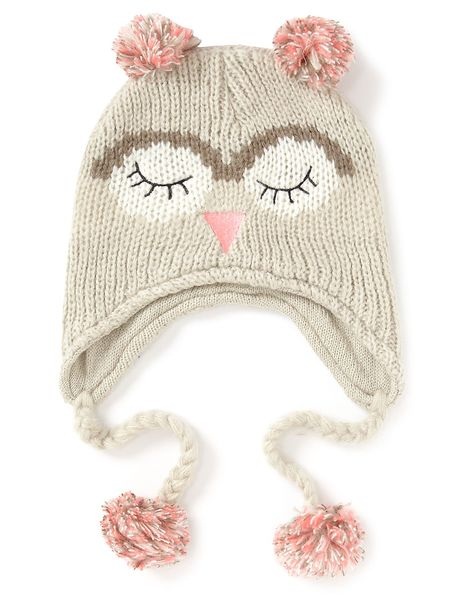 Owl Trapper Hat Women George At Asda Trapper Hats