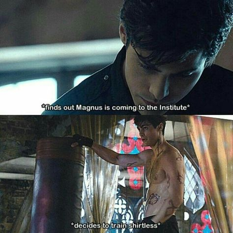 I hope we'll have some Malec in this episode 🤗😍Ps : this picture I found on Pinterst is hilarious 😂😂