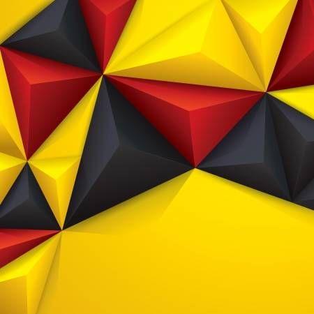 Stock Vector Geometric Background Geometric Fractal Art
