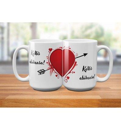 d0503707eaf Tassikomplekt (2tk) Jagatud süda   Muud tooted   Tableware, Mugs ...