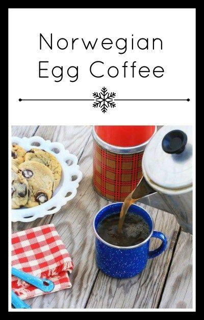 How To Make Norwegian Egg Coffee Recipe Egg Coffee Norwegian Food Coffee