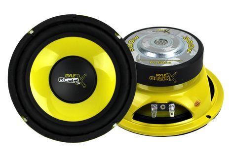 2 Pyle Plg64 6 5 600 Watt Car Mid Bass Midrange Subwoofers Subs Power Speakers New Pyle Plg64 6 5 600 Watt Car Powered Speakers Subwoofer Car Audio Systems