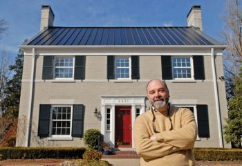 Homeowners Install Solar Metal Roofs Black Metal Roof Metal Roof Solar Roof