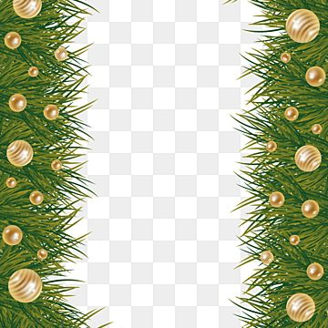Merry Christmas Border Design With Leaf And Ball Border Decoration Christmas Png And Vector With Transparent Background For Free Download Christmas Border Merry Christmas Poster Christmas Leaves