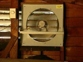 How To Install A Solar Powered Attic Fan With Images Solar Powered Attic Fan Solar Attic Fan Attic Ventilation