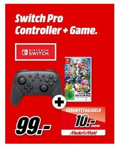 Nintendo Switch Pro Controller Super Smash Bros Ultimate Inkl