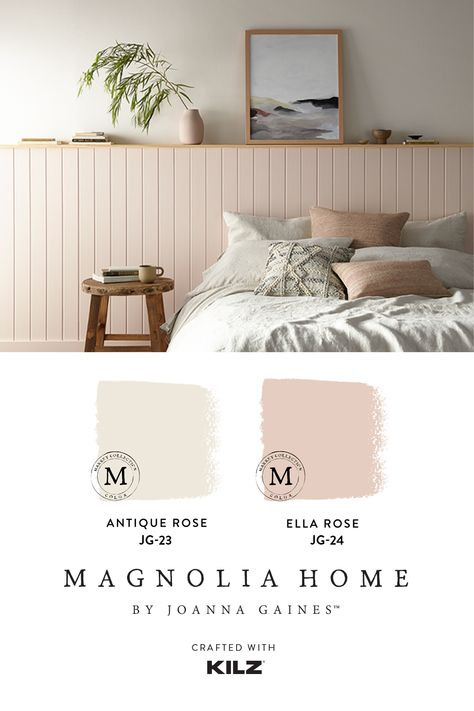 Magnolia Homes, French Country Colors, Easy Painting Projects, Best Paint Colors, Guest Room Office, Black Bedding, Antique Roses, Autumn Home, Bedroom Colors