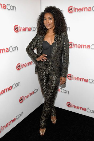 Actor Angela Bassett attends the CinemaCon 2018 Paramount Pictures Presentation Highlighting Its Summer of 2018 and Beyond at The Colosseum at Caesars Palace during CinemaCon, the official convention of the National Association of Theatre Owners.