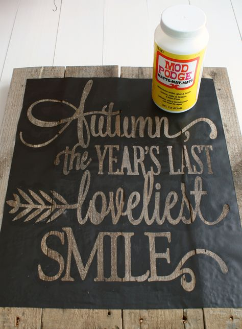 Use Mod Podge to prevent paint bleeding when using stencils.