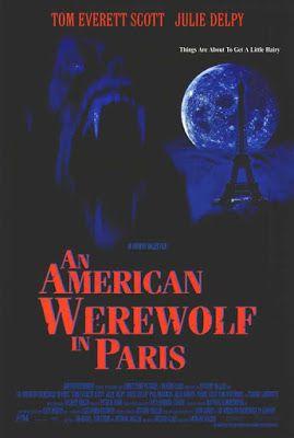 El Senor De Los Bloguinos Un Hombre Lobo Americano En Paris 1997 De Anthony Waller Werewolf Paris Movie Movie Posters